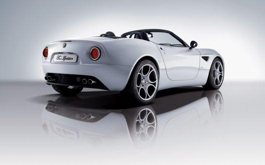 Обои Alfa Romeo 8C Spider