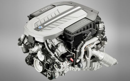 Обои BMW Engine