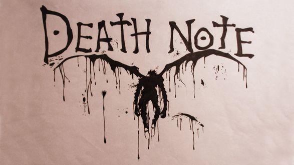Обои Рюк из аниме 'Death Note'