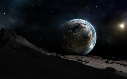 Обои Неизвестные планеты