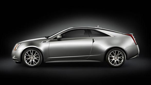 Обои Автомобиль Cadillac CTS Coupe 2011
