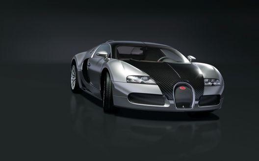 Обои Bugatti Veyron Pur Sang