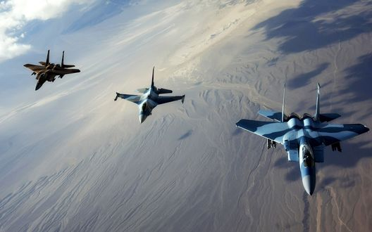 Обои Jet Fighters