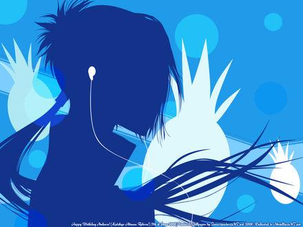 Обои Рокудо Мукуро из аниме 'Kateikyoushi Hitman Reborn / Учитель-мафиози Реборн'