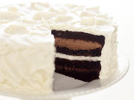 Обои Торт шоколадный
