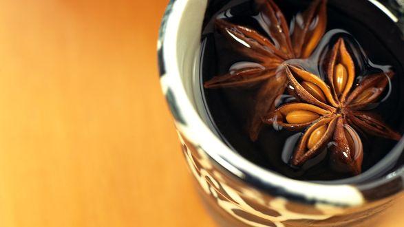Обои Ароматный цветочный чай