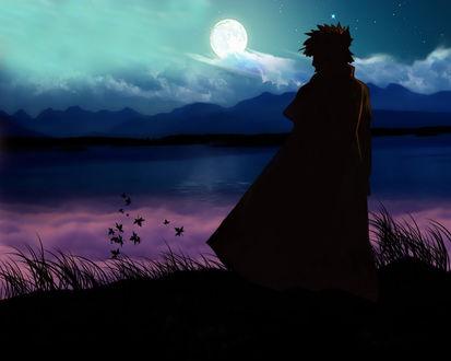 Обои Yondaime Hokage из аниме Naruto / Наруто