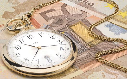 Обои Время-деньги
