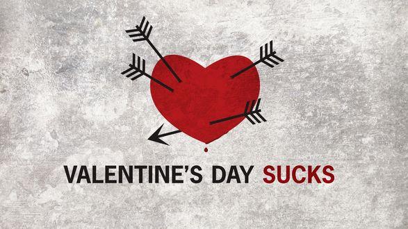 Обои Пронзенное стрелам сердце (valentine's gay sucks)