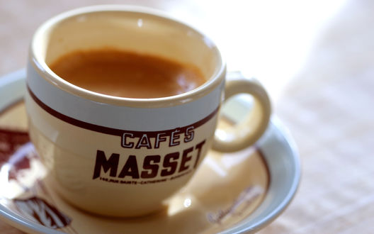 Обои Чашечка кофе (Cafes Masset)