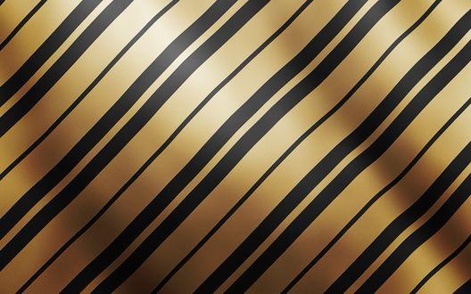 Обои Золотой фон с чёрными полосами