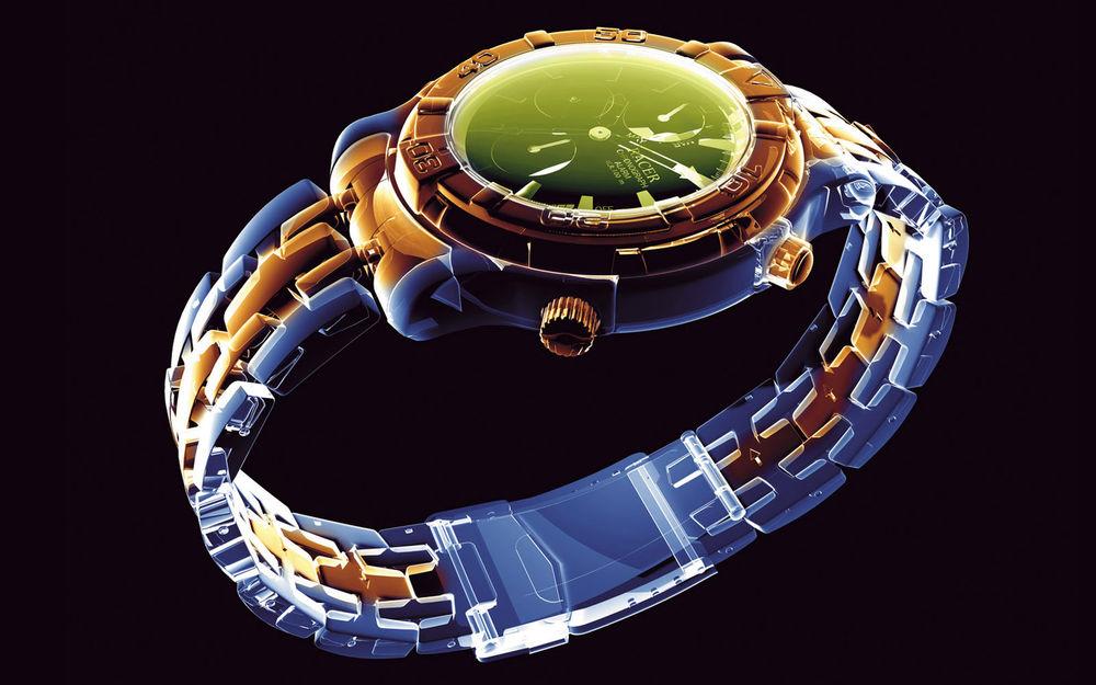 Обои для рабочего стола Ultimate Neon-Наручные часы с браслетом