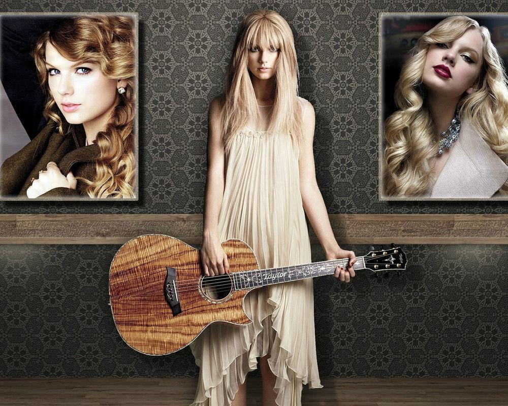 Обои для рабочего стола Taylor Swift / Тейлор Свифт