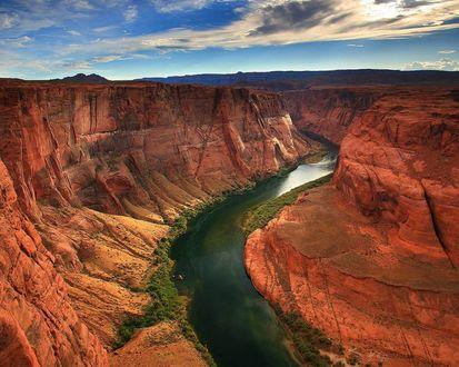 Обои Большой каньён в Аризоне