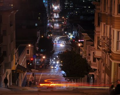 Обои Ночь в Калифорнии