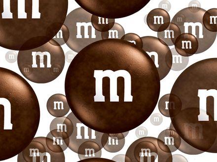 Обои Шоколадные  m&m's(ы)
