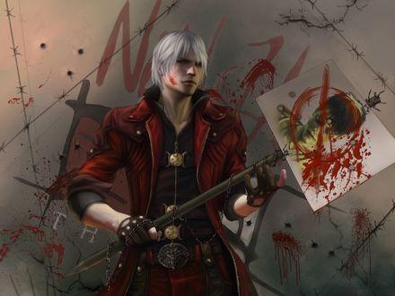 Обои Данте из игры Devil May Cry 5