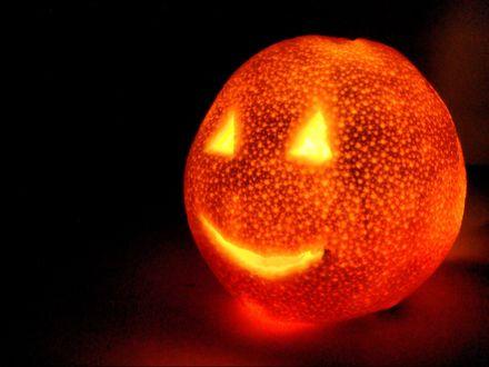 Обои Светильник Джека в Хэллоуин / Haloween