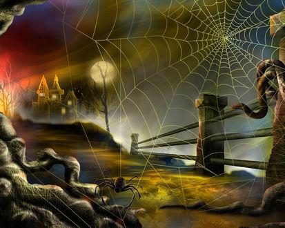Обои Ночь на Хэллоуин / Halloween