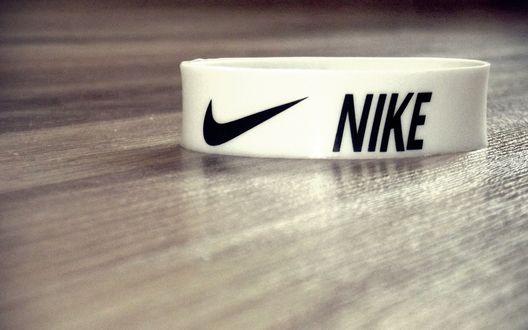 Обои Напульсник фирмы Nike (Найк)