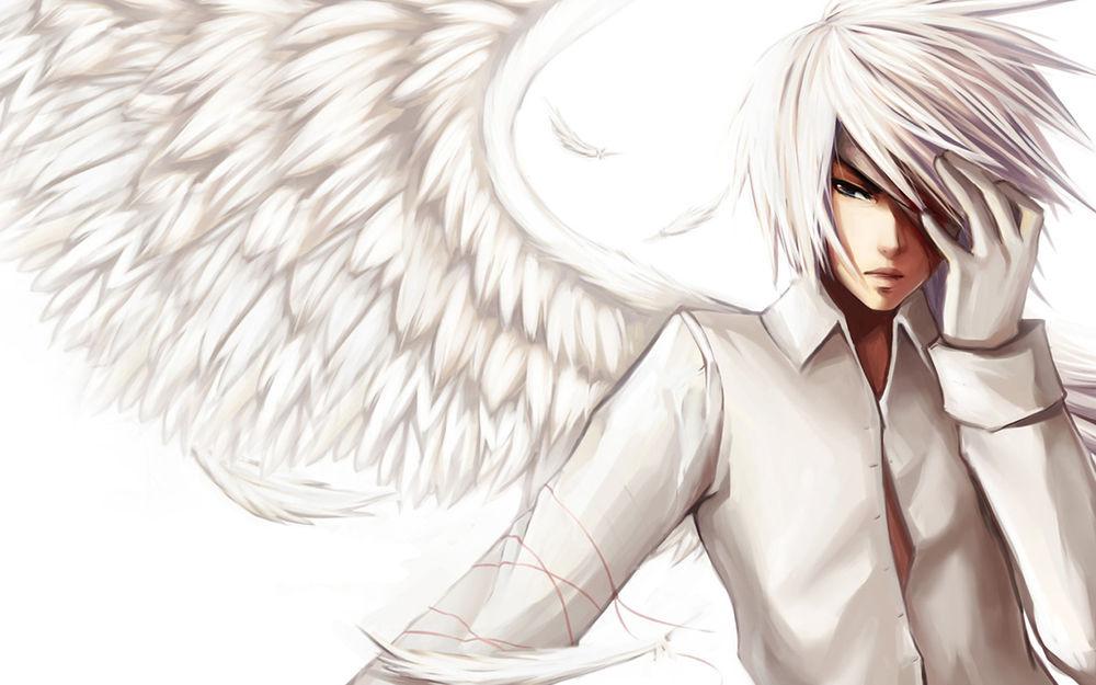 ангел парень картинки
