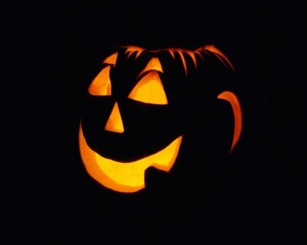 Обои для рабочего стола Светильник Джека в Хэллоуин / Haloween