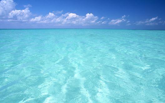 Обои Спокойный, лазурный океан