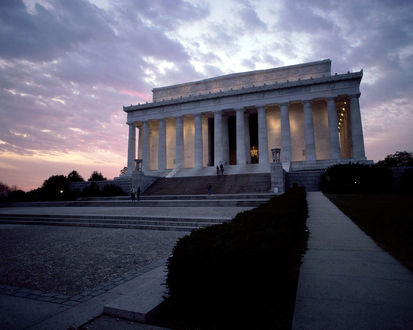 Обои Вашингтон, мемориал Линкольна