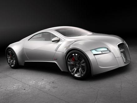 Обои Концепткар Audi A-R0