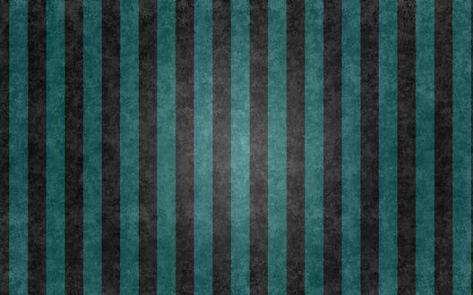 Обои Полосатая черно бирюзовая текстура