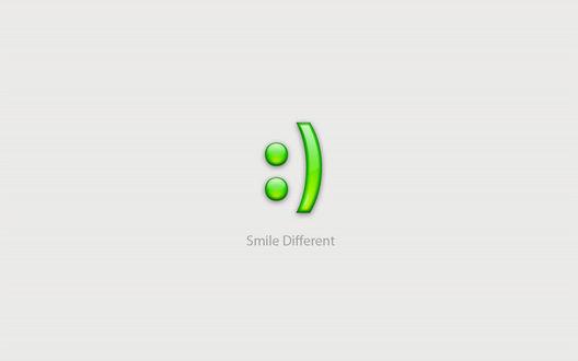 Обои Смайл :) (Smile Different)