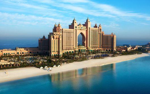 Обои Отель Atlantis the palm в Дубае