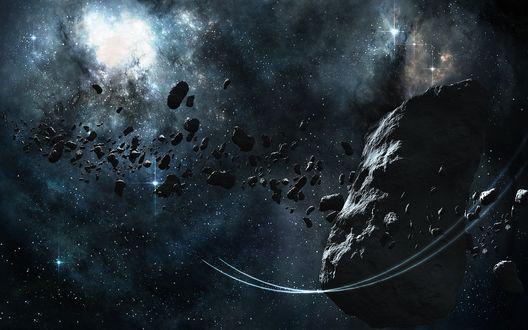 Обои Пояс астероидов