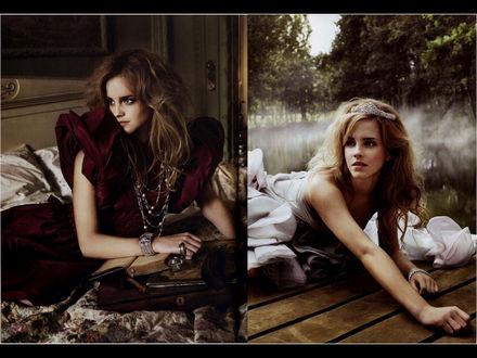 Обои Эмма Утсон (Emma Watson)
