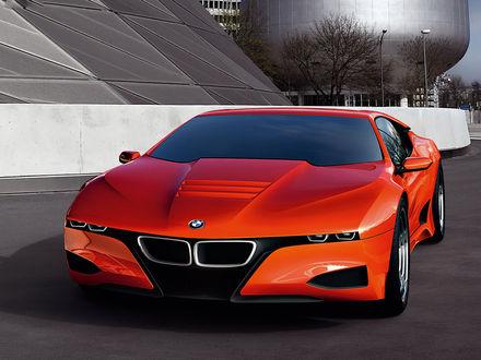 Обои Автомобиль BMW-M1 Concept / БМВ М1 Концепт на рабочий стол