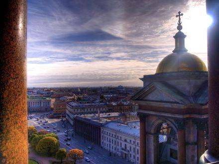 Обои Исаакиевский собор в Санкт-Петербурге, Россия