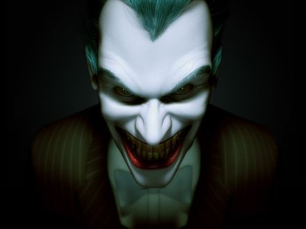 Обои Улыбающийся клоун