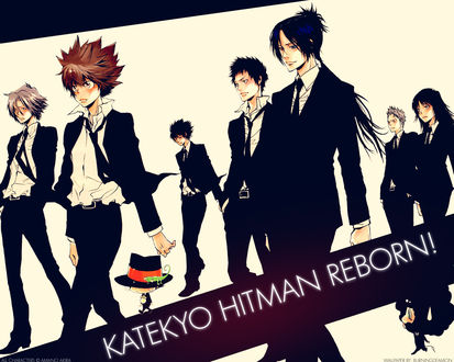 Обои Персонажи аниме Учитель-мафиози Реборн (KATEKYO HITMAN REBORN!)