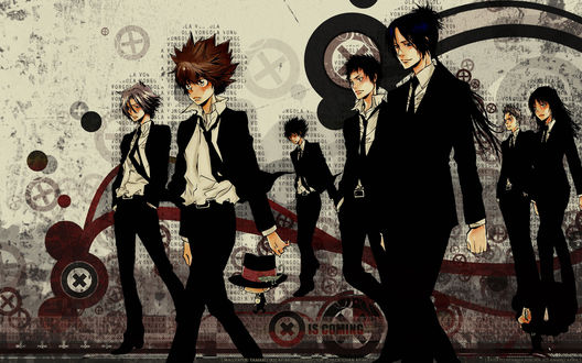 ���� ��������� ����� �������-������� ������ (VONGOLA IS COMING)