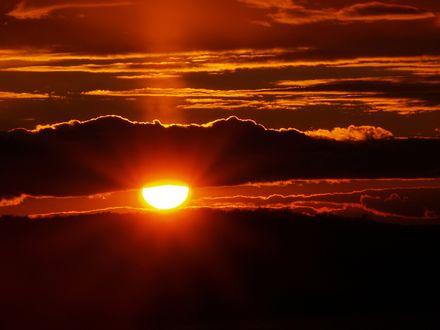 Обои Закат солнца