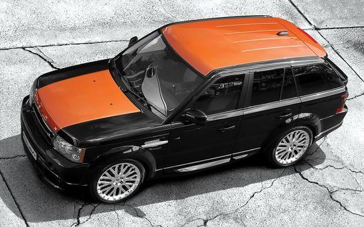 Обои KAHN_Range_Rover на дороге