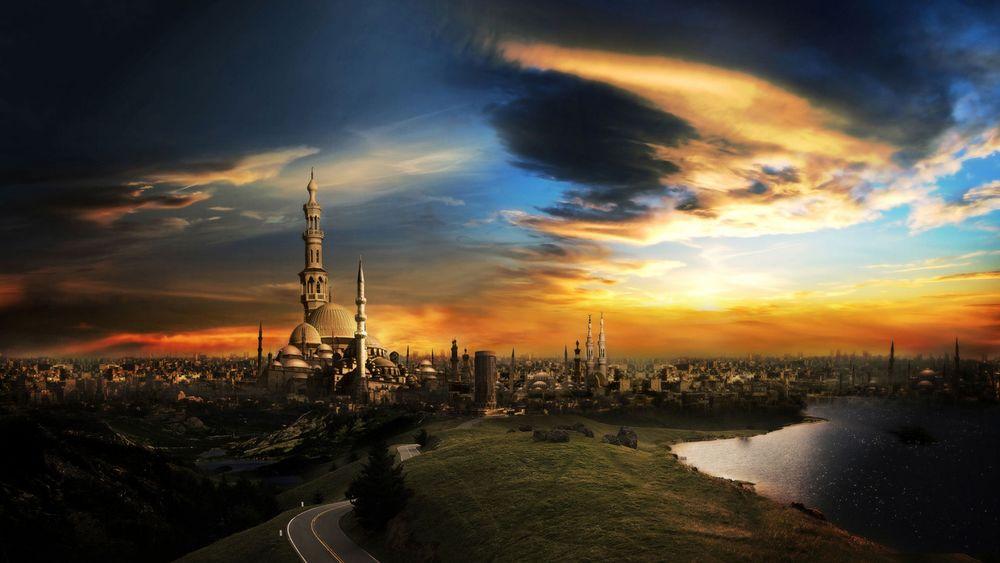 Обои для рабочего стола Каир-город тысячи минаретов