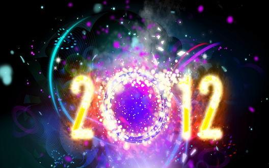 Обои Новый 2012 год