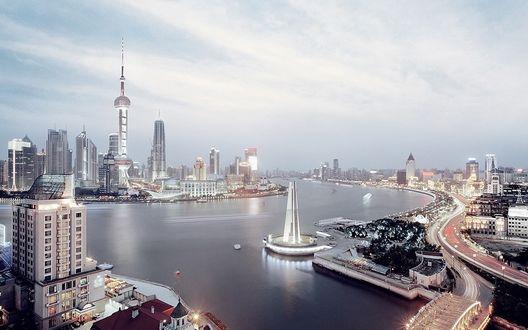 Обои Шанхай, Китай
