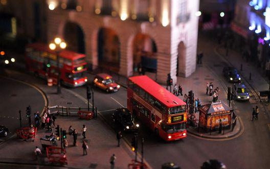 Обои Игрушечный Лондон / London, Англия