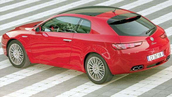 Обои Alfa Romeo / Альфа Ромео Brera