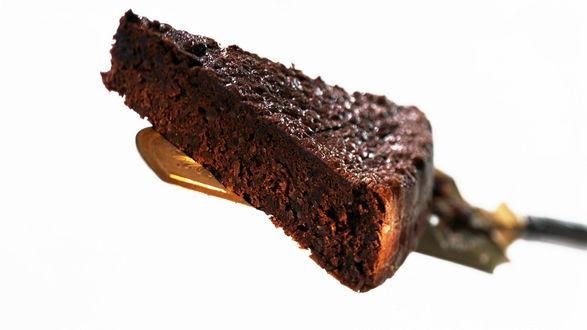 Обои Шоколадный пирог