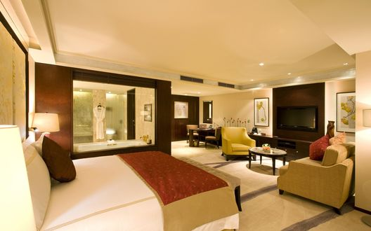 Обои Комната - люкс в отеле