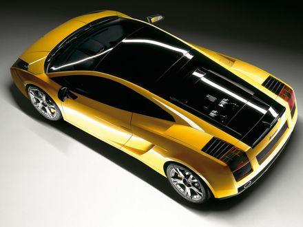 Обои Lamborghini Gallardo SE Coupe / Ламборджини