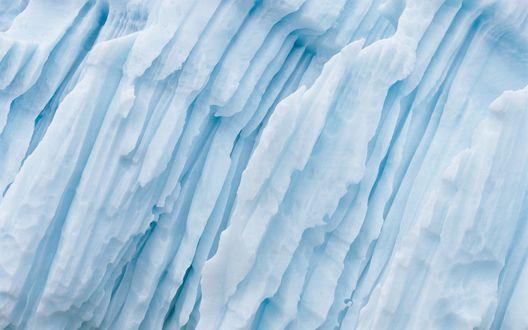 Обои На леднике